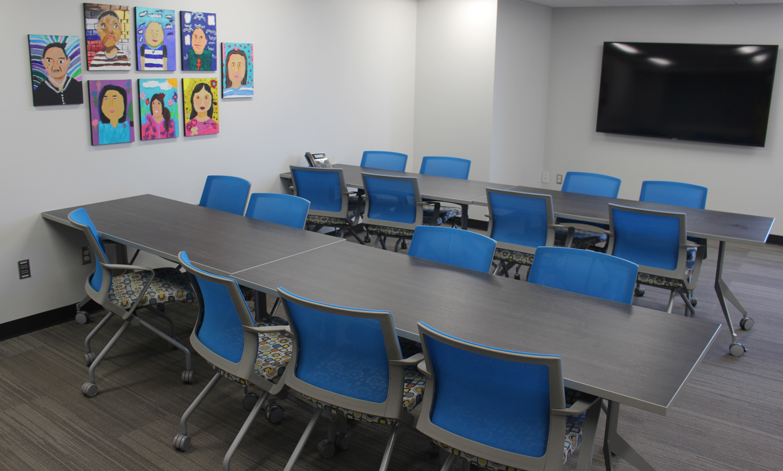 Three new adult classrooms are part of the renovation and expansion at the Completely KIDS headquarters, 2566 St. Mary's Ave. (Photo by Scott Stewart)
