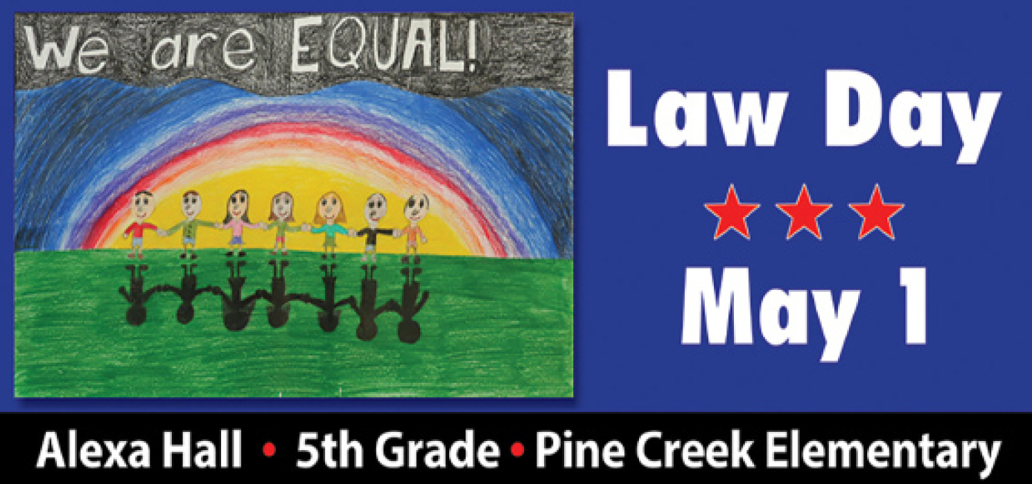 1st Place: Alexa Hall<br />Pine Creek Elementary School, Bennington<br />Teacher: Mrs. Kathleen Cannon