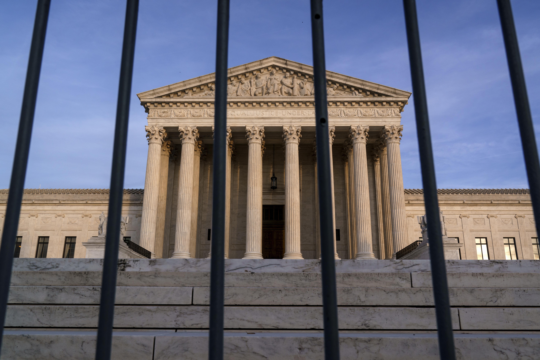 The Supreme Court is shown Nov. 5, 2020, in Washington. (AP)