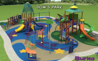 A rendering of Dom's Park, which will be installed next spring at Chalco Hills Recreation Area.          (Papio NRD)