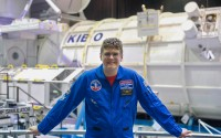 Ralston High School freshman Brenden Cunningham attended space camps in Huntsville, Alabama, and Hutchinson, Kansas, this summer.  He is shown above at the Huntsville camp.                   (Amy Cunningham via RPS)